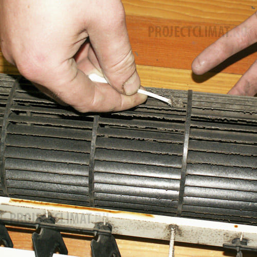 Теплообменник внутреннего блока кондиционера теплообменники труба в трубе.нормы и методы расчета на прочность